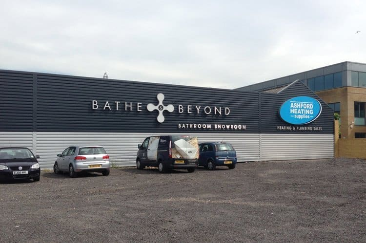 Bathe & Beyond Outside