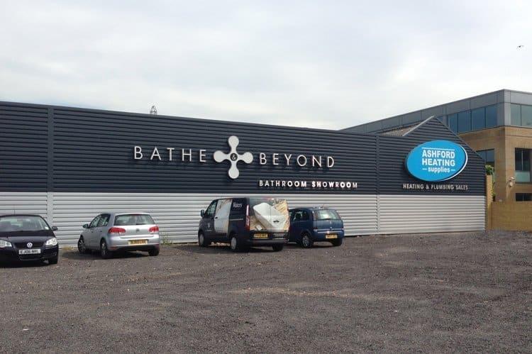 Bathe & Beyond Outside
