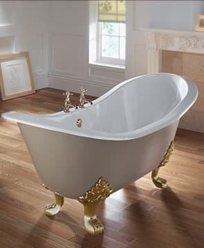 Imperial Sheraton Slipper Bath
