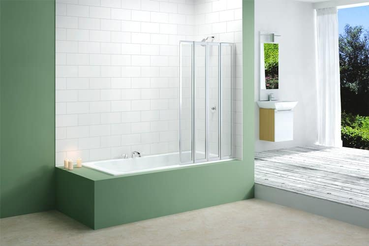 Merlyn 4 Fold Bath screen