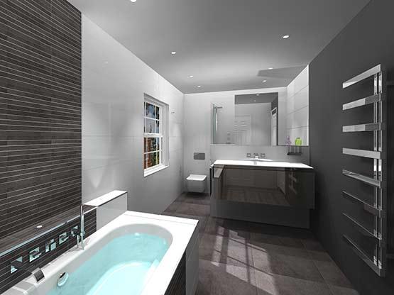 Bathroom design service - Main bathroom designs ...