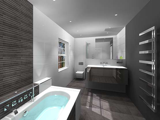 Bathroom design service for Main bathroom designs
