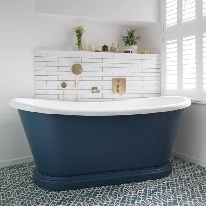 BC Designs Acrylic Boat Bath