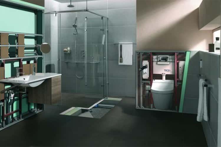 TECEprofil toilet module