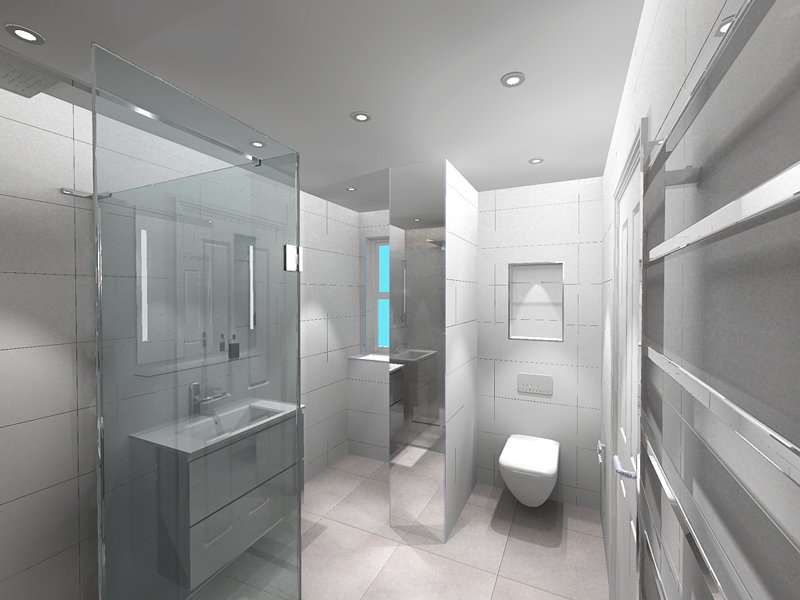 PROJECT: Teenagers Shower Room