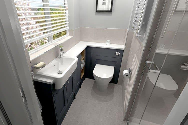 Roper Rhodes Fitted bathroom furniture