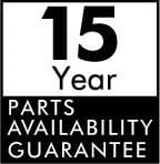 Hansgrohe 15 year parts availability