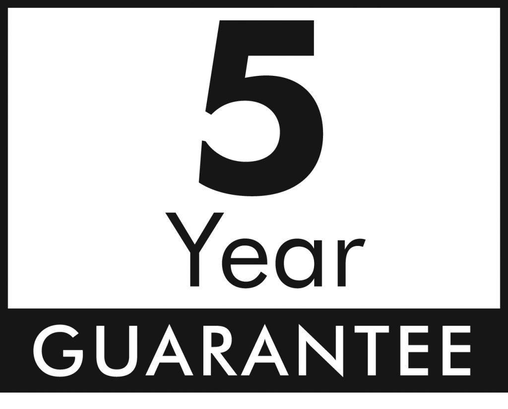 Hansgrohe 5 year Guarantee