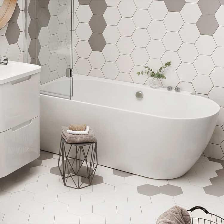 Waters Baths Ebb Showerbath
