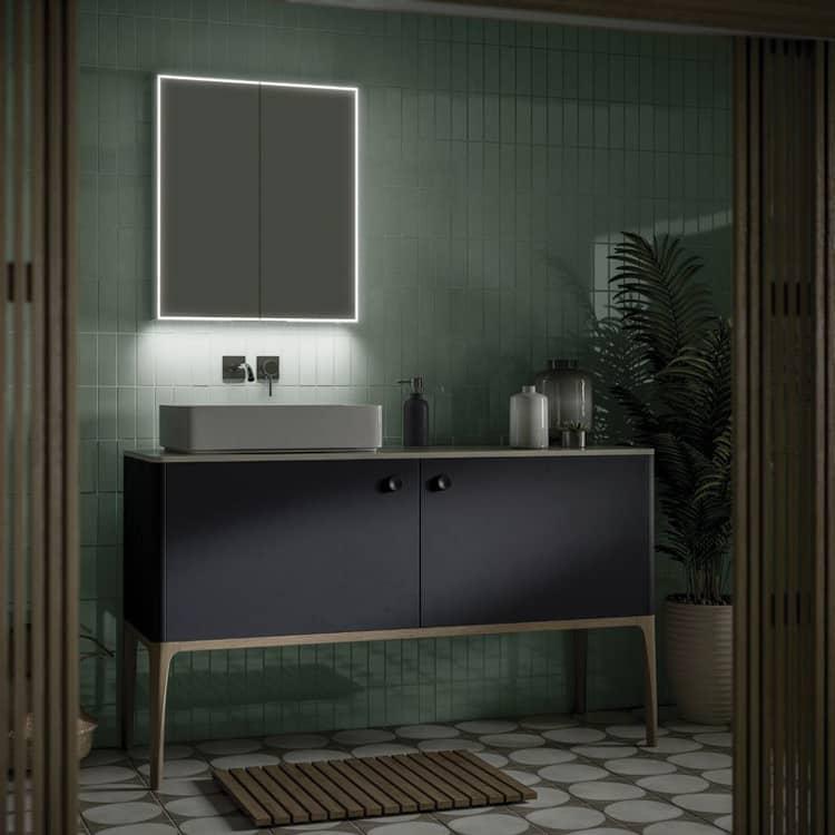 HIB Exos USB Bathroom Cabinet